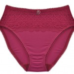 MATERNITY BRIEFS: Deep Red Maternity Briefs